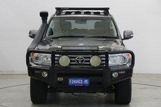 2014 Toyota Landcruiser VDJ200R MY13 Sahara Grey 6 Speed Sports Automatic Wagon.