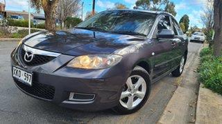 2006 Mazda 3 BK MY06 Upgrade Maxx Grey 4 Speed Auto Activematic Sedan.