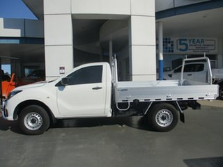 2018 Mazda BT-50 MY18 XT (4x4) White 6 Speed Automatic Cab Chassis.