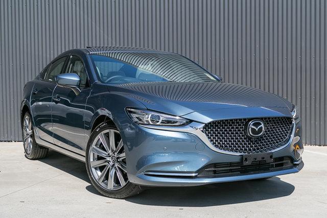 New Mazda 6 GL1033 Atenza SKYACTIV-Drive Mornington, 2021 Mazda 6 GL1033 Atenza SKYACTIV-Drive Blue Reflex 6 Speed Sports Automatic Sedan