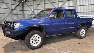 1998 Nissan Navara D22 DX Blue 5 Speed Manual Utility.