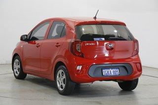 2017 Kia Picanto JA MY18 S Red 4 Speed Automatic Hatchback.