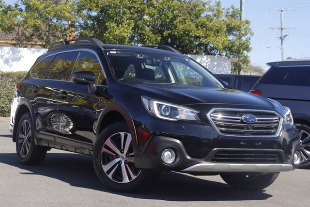 Used Subaru Outback B6A MY18 2.5i CVT AWD Premium Mount Gravatt, 2018 Subaru Outback B6A MY18 2.5i CVT AWD Premium Black 7 Speed Constant Variable Wagon