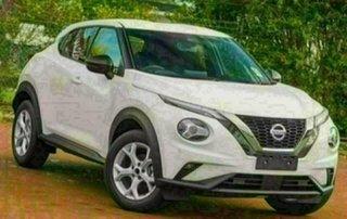 2021 Nissan Juke F16 ST+ Ivory Pearl 7 Speed Auto Dual Clutch Hatchback