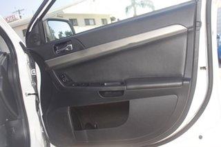 2013 Mitsubishi Lancer CJ MY14 ES Sportback White 5 Speed Manual Hatchback