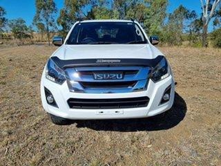 2019 Isuzu D-MAX MY19 LS-T Crew Cab White 6 Speed Sports Automatic Utility.