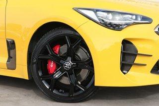 2017 Kia Stinger CK MY18 GT Fastback Sunset Yellow 8 Speed Sports Automatic Sedan