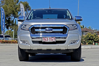 2018 Ford Ranger PX MkII 2018.00MY XLT Double Cab Silver 6 Speed Sports Automatic Utility.