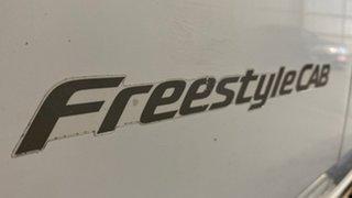 2008 Mazda BT-50 UNY0E3 SDX Freestyle White 5 Speed Manual Utility