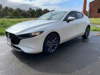 2019 Mazda 3 BP Series G20 Touring White Sports Automatic Hatchback.