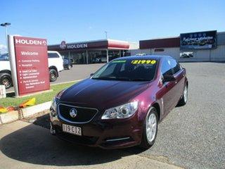 2014 Holden Commodore VF MY14 Evoke Purple 6 Speed Sports Automatic Sedan.