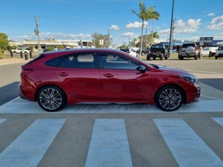 2019 Kia Cerato BD MY19 GT Safety Pack Red 7 Speed Auto Dual Clutch Hatchback.