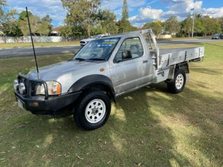2006 Nissan Navara D22 MY2003 DX Silver 5 Speed Manual Cab Chassis.