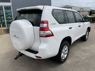 2017 Toyota Landcruiser Prado GDJ150R GX White/110417 6 Speed Sports Automatic Wagon.