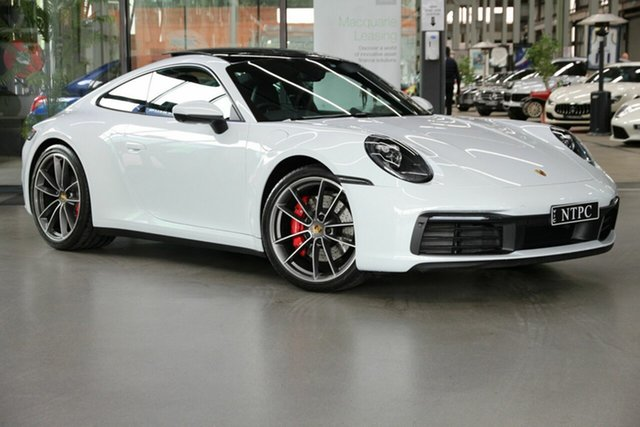 Used Porsche 911 992 MY20 Carrera 4S PDK AWD North Melbourne, 2019 Porsche 911 992 MY20 Carrera 4S PDK AWD White 8 Speed Sports Automatic Dual Clutch Coupe