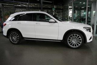 2017 Mercedes-Benz GLC-Class X253 807MY GLC250 9G-Tronic 4MATIC White 9 Speed Sports Automatic Wagon.