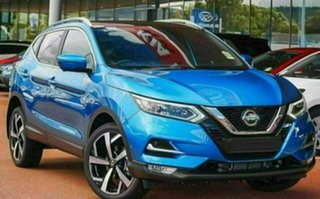 2021 Nissan Qashqai MY20 TI Vivid Blue Continuous Variable Wagon