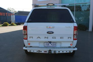 2012 Ford Ranger PX XLT 3.2 (4x4) White 6 Speed Automatic Dual Cab Utility