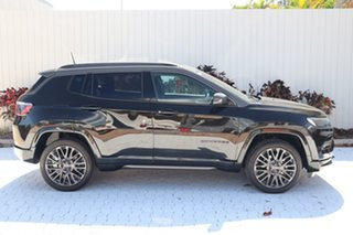 2021 Jeep Compass M6 MY21 S-Limited Brilliant Black Crystal Pearl 9 Speed Automatic Wagon.