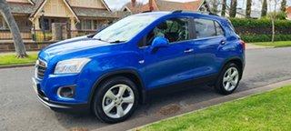 2016 Holden Trax TJ MY16 LTZ Blue/90728 6 Speed Automatic Wagon