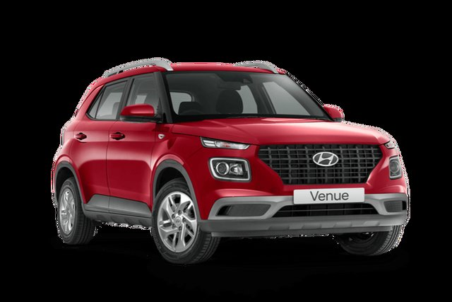 New Hyundai Venue QX.V3 MY21 Hamilton, 2021 Hyundai Venue QX.V3 MY21 Fiery Red 6 Speed Automatic Wagon