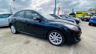 2012 Mazda 3 BL10L2 SP25 Activematic Black 5 Speed Sports Automatic Hatchback.