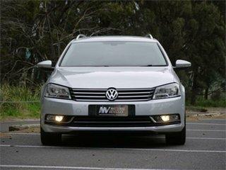 2012 Volkswagen Passat Type 3C MY12.5 125TDI DSG Highline Silver 6 Speed.