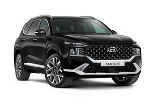 2021 Hyundai Santa Fe Tm.v3 MY21 Highlander Abyss Black 8 Speed Sports Automatic Wagon