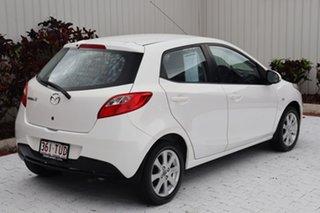 2013 Mazda 2 DE10Y2 MY14 Neo Sport White 4 Speed Automatic Hatchback