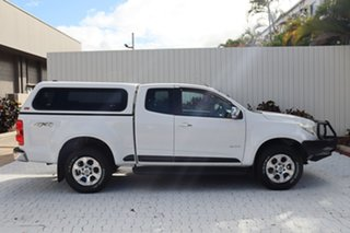 2014 Holden Colorado RG MY14 LTZ Space Cab Summit White 6 Speed Sports Automatic Utility.