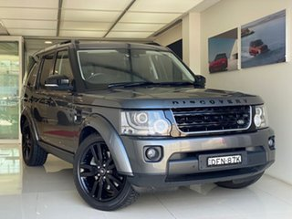 2015 Land Rover Discovery Series 4 L319 MY16 HSE Grey 8 Speed Sports Automatic Wagon.