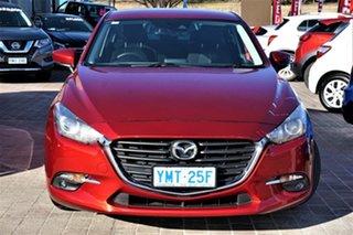 2018 Mazda 3 BN5278 Maxx SKYACTIV-Drive Sport Red 6 Speed Sports Automatic Sedan.