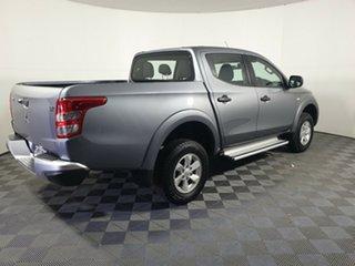 2018 Mitsubishi Triton MQ MY18 GLX+ Double Cab Titanium 6 Speed Manual Utility