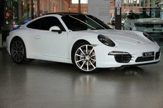 2015 Porsche 911 991 MY15 Carrera PDK White 7 Speed Sports Automatic Dual Clutch Coupe.
