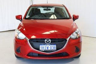 2014 Mazda 2 DJ2HA6 Maxx SKYACTIV-MT Red 6 Speed Manual Hatchback