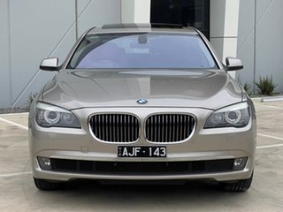 2011 BMW 7 Series F01 MY1110 740i Steptronic Silver 6 Speed Sports Automatic Sedan.