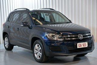 2015 Volkswagen Tiguan 5N MY15 118TSI 2WD Blue 6 Speed Manual Wagon