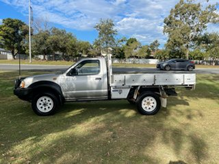 2006 Nissan Navara D22 MY2003 DX Silver 5 Speed Manual Cab Chassis