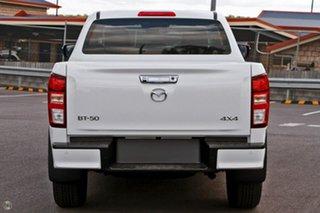2021 Mazda BT-50 TFS40J XTR White 6 Speed Manual Utility.