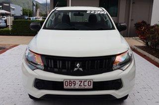 2016 Mitsubishi Triton MQ MY16 GLX 4x2 White 5 Speed Sports Automatic Cab Chassis.