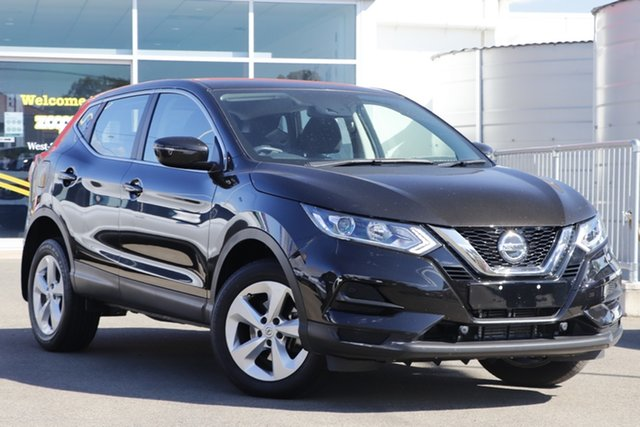 Used Nissan Qashqai J11 Series 3 MY20 ST X-tronic Toowoomba, 2019 Nissan Qashqai J11 Series 3 MY20 ST X-tronic Black 1 Speed Constant Variable Wagon