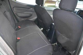 2018 Mitsubishi Triton MQ MY18 GLX (4x4) White 6 Speed Manual Dual Cab Utility
