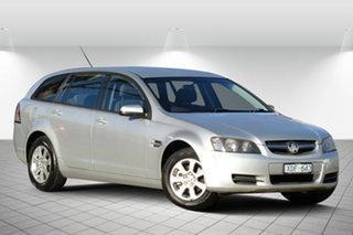 2009 Holden Commodore VE MY09.5 Omega Sportwagon Adventurine Silver 4 Speed Automatic Wagon.