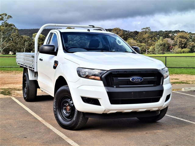 Used Ford Ranger PX MkII XL St Marys, 2016 Ford Ranger PX MkII XL White 6 Speed Sports Automatic Cab Chassis