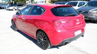 2013 Alfa Romeo Giulietta Series 0 MY12 QV Red 6 Speed Manual Hatchback
