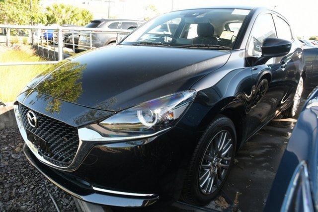 New Mazda 2 DJ2HAA G15 SKYACTIV-Drive Evolve Wollongong, 2021 Mazda 2 DJ2HAA G15 SKYACTIV-Drive Evolve Jet Black 6 Speed Sports Automatic Hatchback