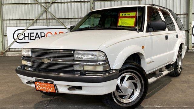 Used Chevrolet Blazer LT Rocklea, 2000 Chevrolet Blazer LT White 4 Speed Automatic Wagon