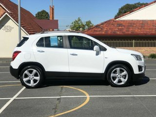 2014 Holden Trax TJ MY15 LTZ White 6 Speed Automatic Wagon.