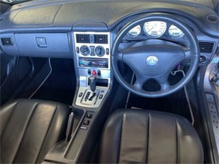 2002 Mercedes-Benz SLK200 202 Kompressor Silver 5 Speed 5 SP AUTOMATIC Convertible
