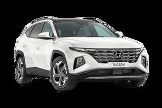 2021 Hyundai Tucson White Cream Automatic Wagon